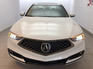 2019 Acura Tlx W A Spec Pkg Red Leather